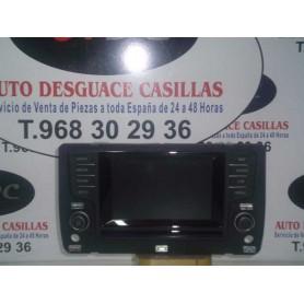 PANTALLA GPS VW GOLF 7 1.2 TSI AÑO 2012