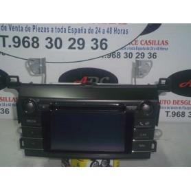 PANTALLA GPS CON AMPLIFICADOR TOYOTA RAV4 2.2 CRDI AÑO 2013
