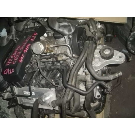 Motor Skoda Fabia 1.2 tsi año 2014